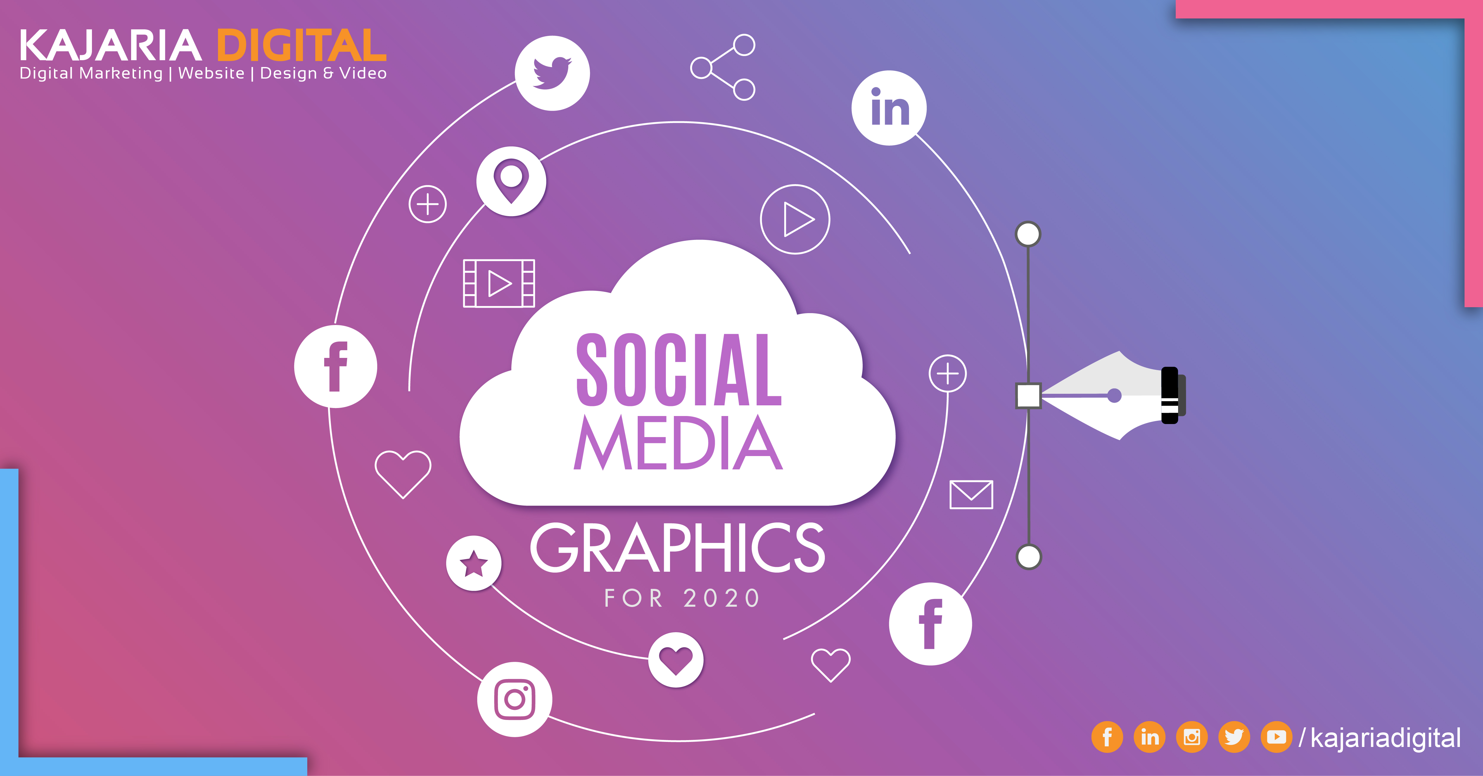 5 Social Media Graphic Design Trends You Need To Know For 2020 Best Website Branding Company Kajaria Digital Blog